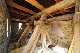 Glockenstuhl nach statischer Sicherung 2014