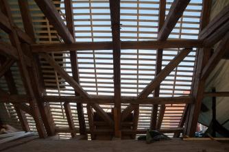 Kletzen: Dacheindeckung.